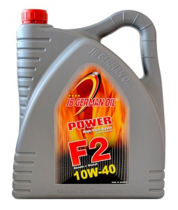 JB GERMAN OIL Power F2 LL SAE 10W-40 полусинт. мот. масло 4 л