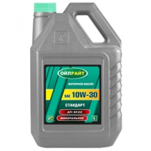 Масло мот. Стандарт 10W30 4 л OIL RIGHT